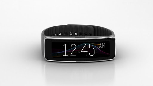Abstract Clock For Gear Fit