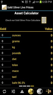 Gold Silver Prices License Key - screenshot thumbnail