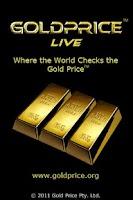 Screenshot of Gold Price Live