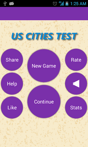 US Cities Test