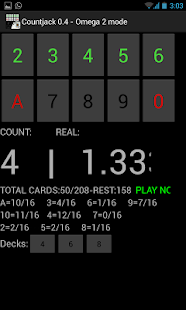 Countjack  Blackjack Tool - screenshot thumbnail