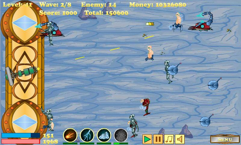Cyborg Defense - screenshot