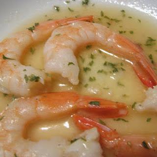 Baked Shrimp in Lemony Garlic Sauce