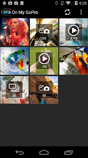 GoPro App - screenshot thumbnail