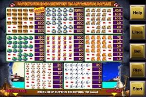 Screenshot of Alcatraz Casino Slot Game FREE
