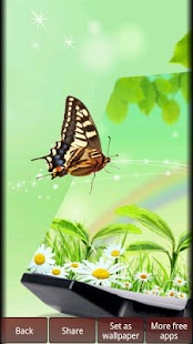 Butterflies HD Wallpapers - screenshot thumbnail