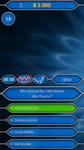 Millionaire Quiz Free: Be Rich 2.5.1 screenshots 4