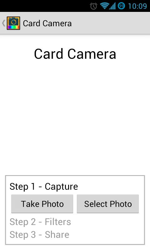 Card Camera Free - screenshot