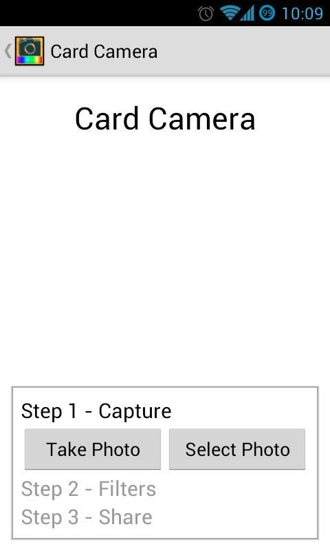 Card Camera Free- screenshot