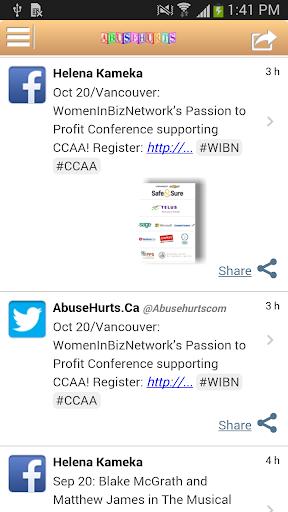 Abuse Hurts Canada