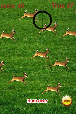 Deer Hunt: Rifle Shot Kill