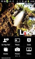 Screenshot of Lokal