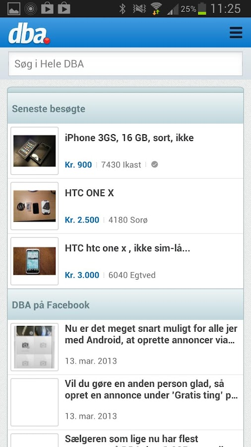 DBA – buy and sell used goods- screenshot