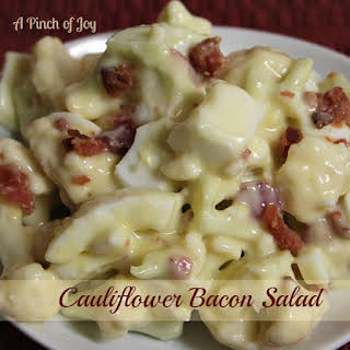 Cauliflower Bacon Salad.