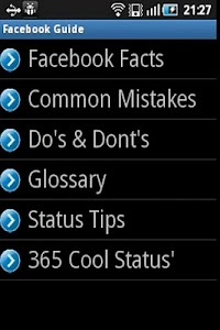 Tips and Guide for Facebook screenshot 0