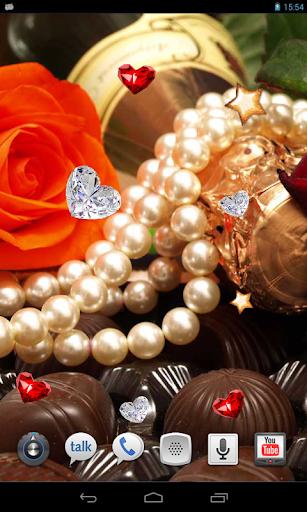 Valentine Chocolate HD LWP