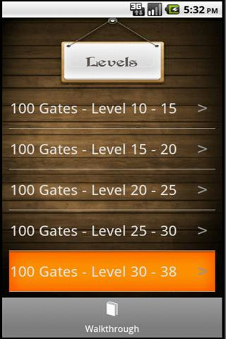 100 Gates Guide - screenshot