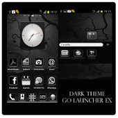 Dark Theme GO Launcher EX