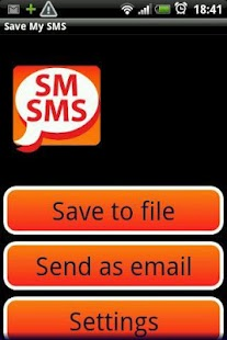 Save My SMS- screenshot thumbnail