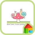 one pair snail dodol theme icon