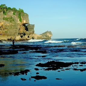 coral beach ngobaran by Christian Nugroho - Landscapes Beaches