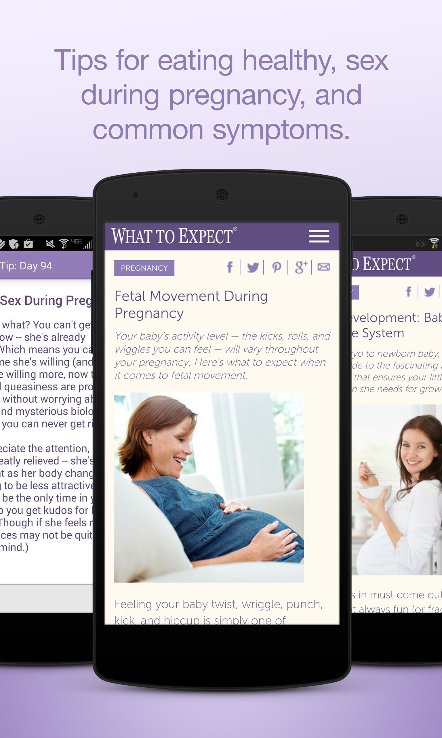 Pregnancy Tracker screenshot #3