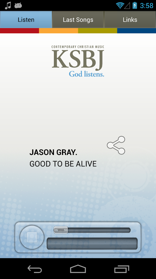 KSBJ – God listens.- screenshot