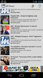 Fc Inter News - screenshot thumbnail