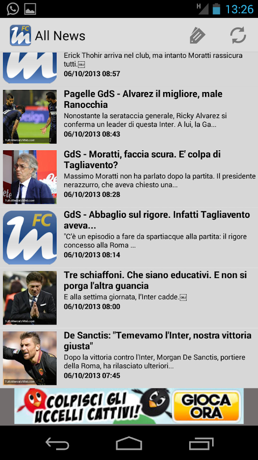 Fc Inter News - screenshot