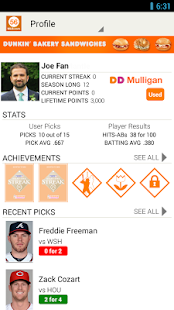 MLB.com Beat the Streak - screenshot thumbnail