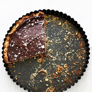 Chocolate Pretzel Tart