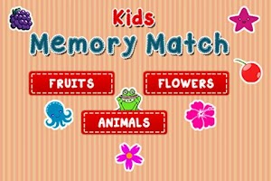 Screenshot of Kids Memory Match - Flip Card