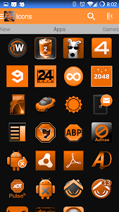 SunstOrange Icon Pack v4.1