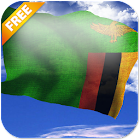 3D Zambia Flag Live Wallpaper icon