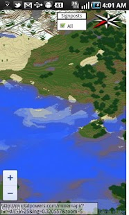 MineMapi Minecraft Map - screenshot thumbnail