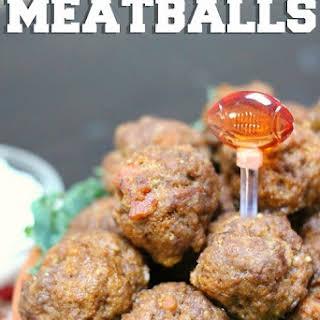 Smoky Chipotle Bacon Meatballs - Delicious Party Food!.