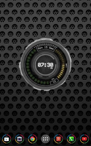 AHL Sci-Fi System Clock Free