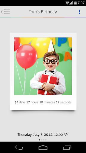 玩生產應用App|Countdown+ Widget Calendar免費|APP試玩