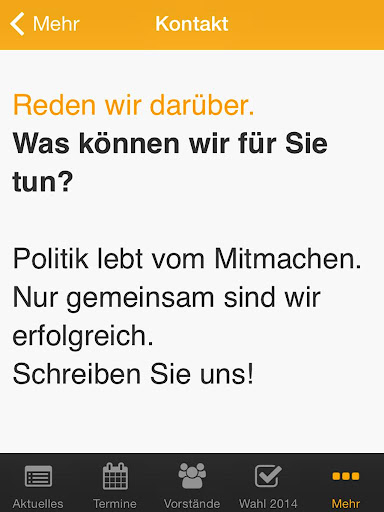 【免費新聞App】CDU Oelde-APP點子