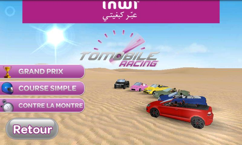 Tomobile Racing - screenshot