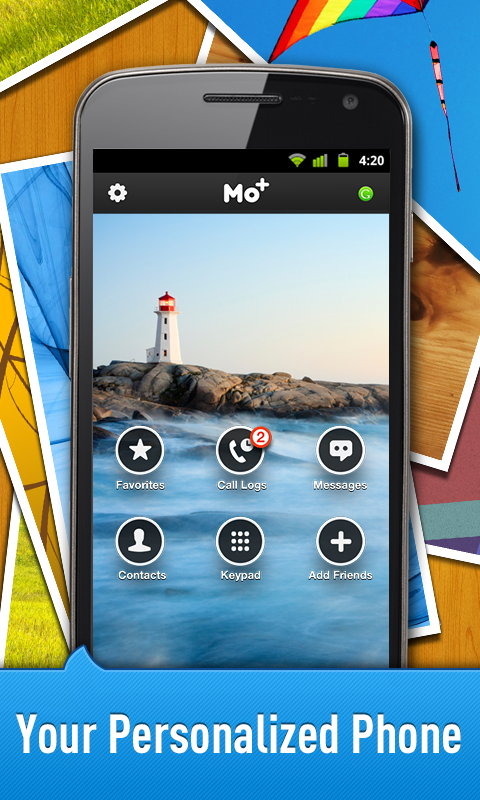 Free Calls & Text by Mo+ - screenshot