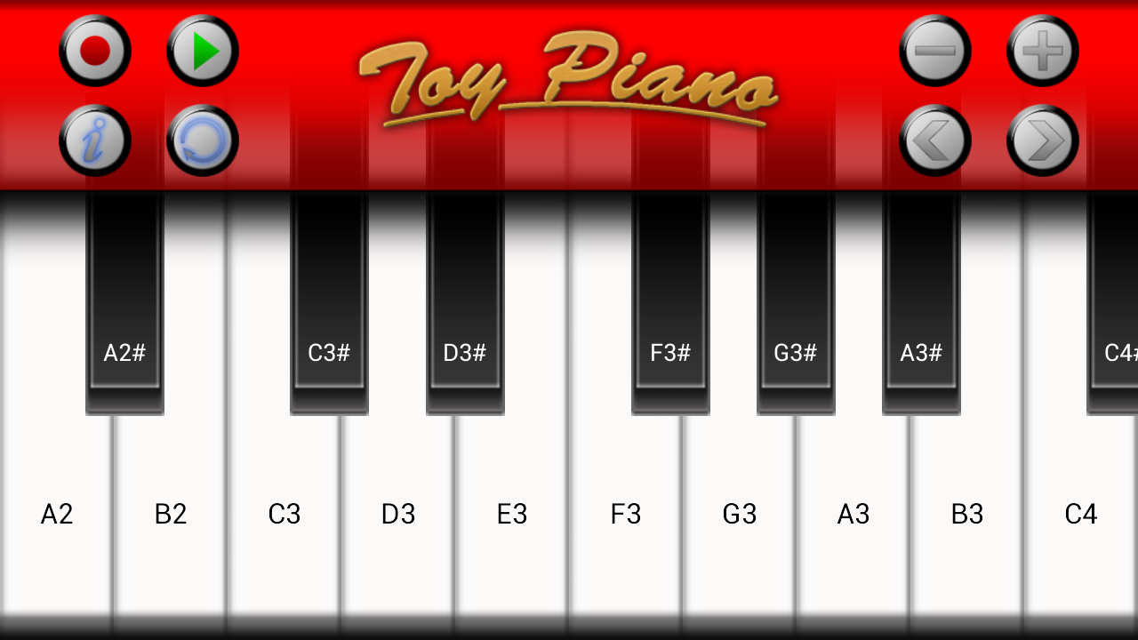 Toy Piano- screenshot
