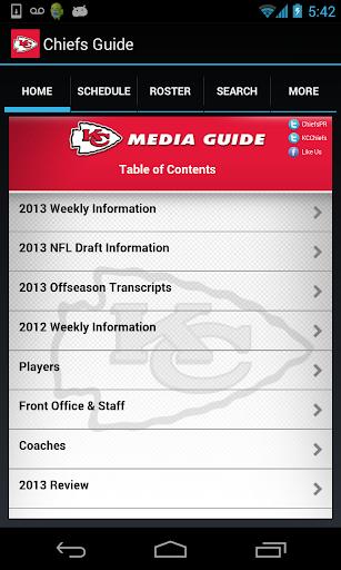 Kansas City Chiefs Media Guide