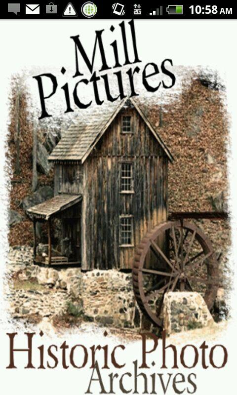 Historic Mill Pictures App- screenshot