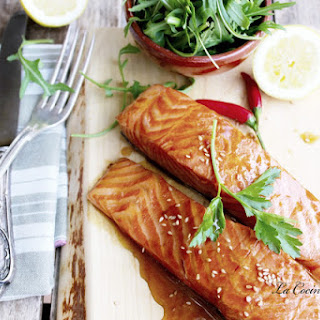 Teriyaki Salmon.