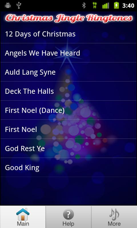 Free Christmas Ringtones - screenshot