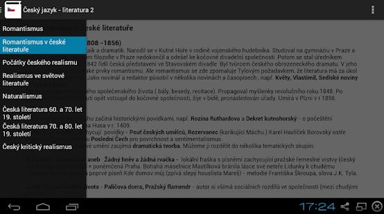 Český Jazyk  - Literatura 2 Screenshot 2