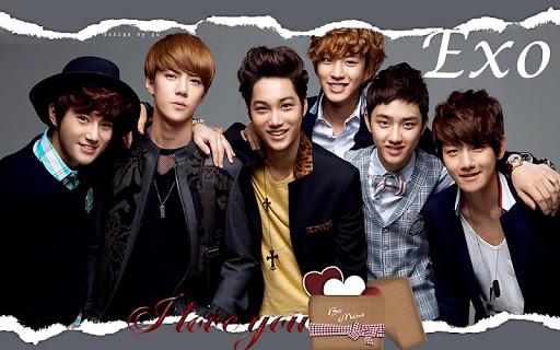EXO Lyric Fan App K-POP