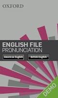 Screenshot of English File Pron Demo