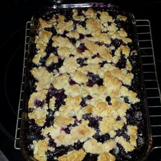 Blueberry 'S' Pie